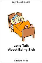 Let's Talk About Being Sick from Easy Social Stories
